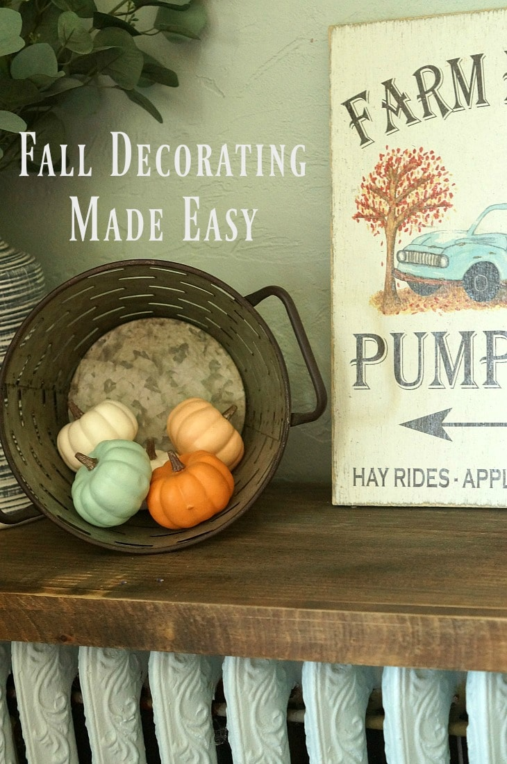 Fall Decorating Made Easy