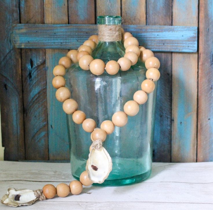 wood blessing beads
