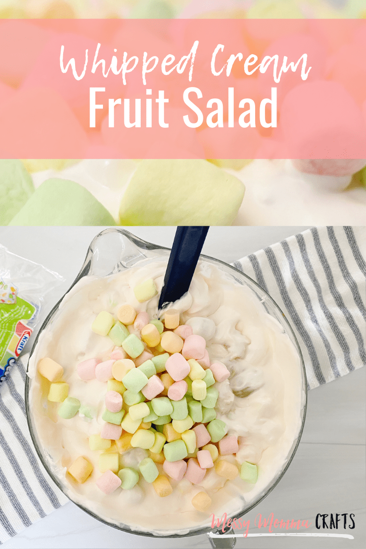Whipped Fruit Salad is one of the best side dishes for Thanksgiving and Christmas dinner. It only requires 4 ingredients but feel free to make it your own with some extra fruits your family loves.