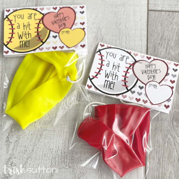 Free Printable Valentines For Kids: You Are a Hit With Me