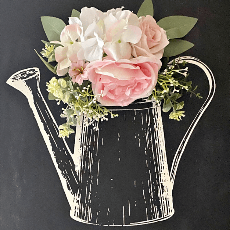 How To Make A DIY Chalkboard Sign For Spring