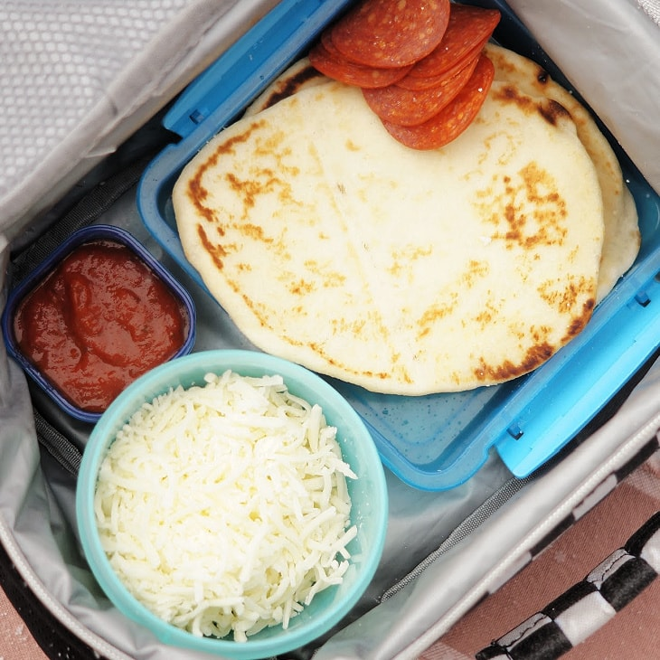 Easy Homemade Pizza Lunchables
