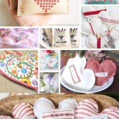 25 DIY heart sachets to make for Valentine's Day as gifts or to decorate your home includes sewing, crochet, knit and no-sew heart sachets.