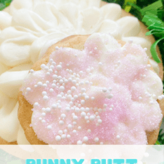 These Quick and Easy Bunny Butt Cookies are a cute way to add a little sweetness to your Easter festivities with your family and friends. Whether you eat them with your coffee or have one after dinner, they're a fantastic sweet.