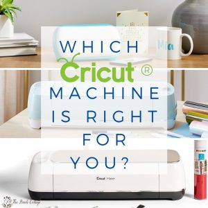 Which Cricut Machine is Right for You? from The Birch Cottage.