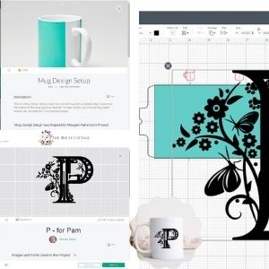 How to combine projects in Cricut Design Space from The Birch Cottage.