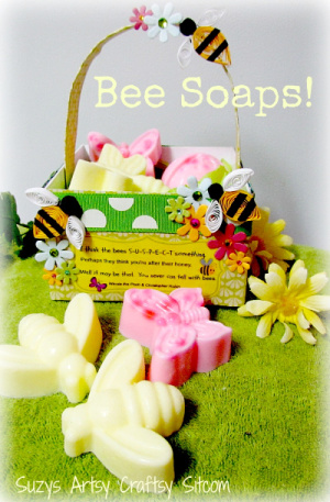 Bee soaps from Suzy's Sitcom.