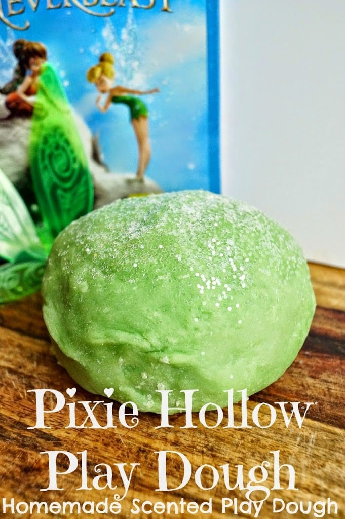 Pixie Hollow play dough from Old House to New Home.
