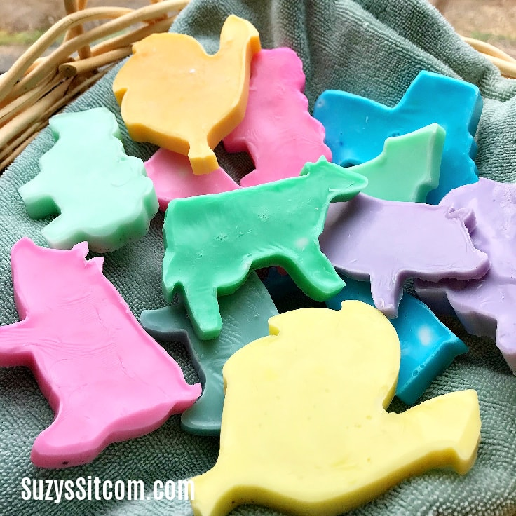 How To Make Melt And Pour Soaps With Cookie Cutters