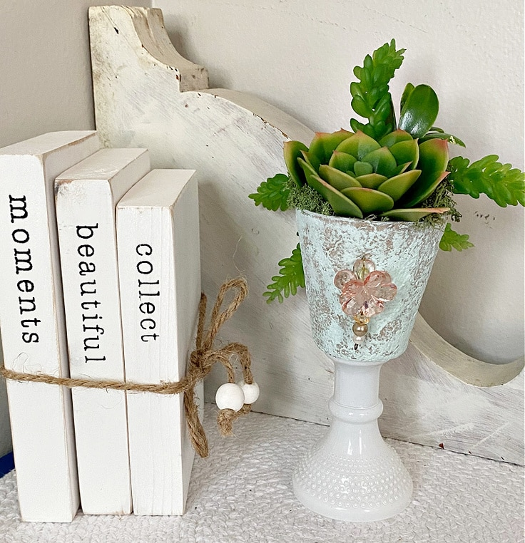Upcycled Peat Pot Crafts With Succulents