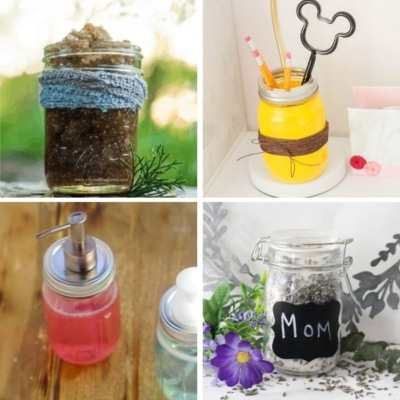 Mason jar craft ideas.