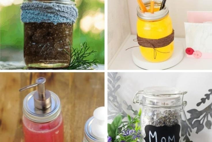 Mason jar craft ideas.