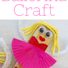 What makes this Wooden Ballerina Craft for Kids awesome is that you can completely customize your ballerina, from hair color, skin color, and even the tutu color.