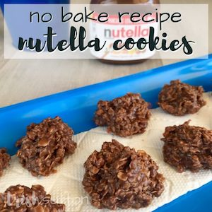 No-bake Nutella cookies recipe from Trish Sutton.