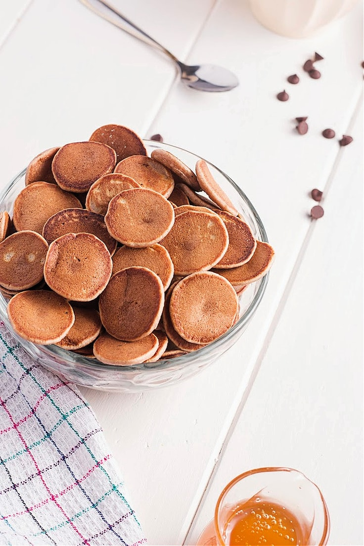 Mini chocolate pancake cereal from Old House to New Home.