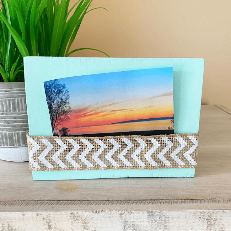 Easy Wood Photo Frame