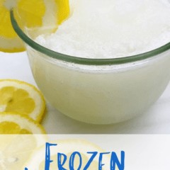 Take a few minutes out of your hot summer to learn how to make a refreshing frozen lemonade. Grab your favorite lemonade, some ice, and a blender, and head on over to the kitchen.